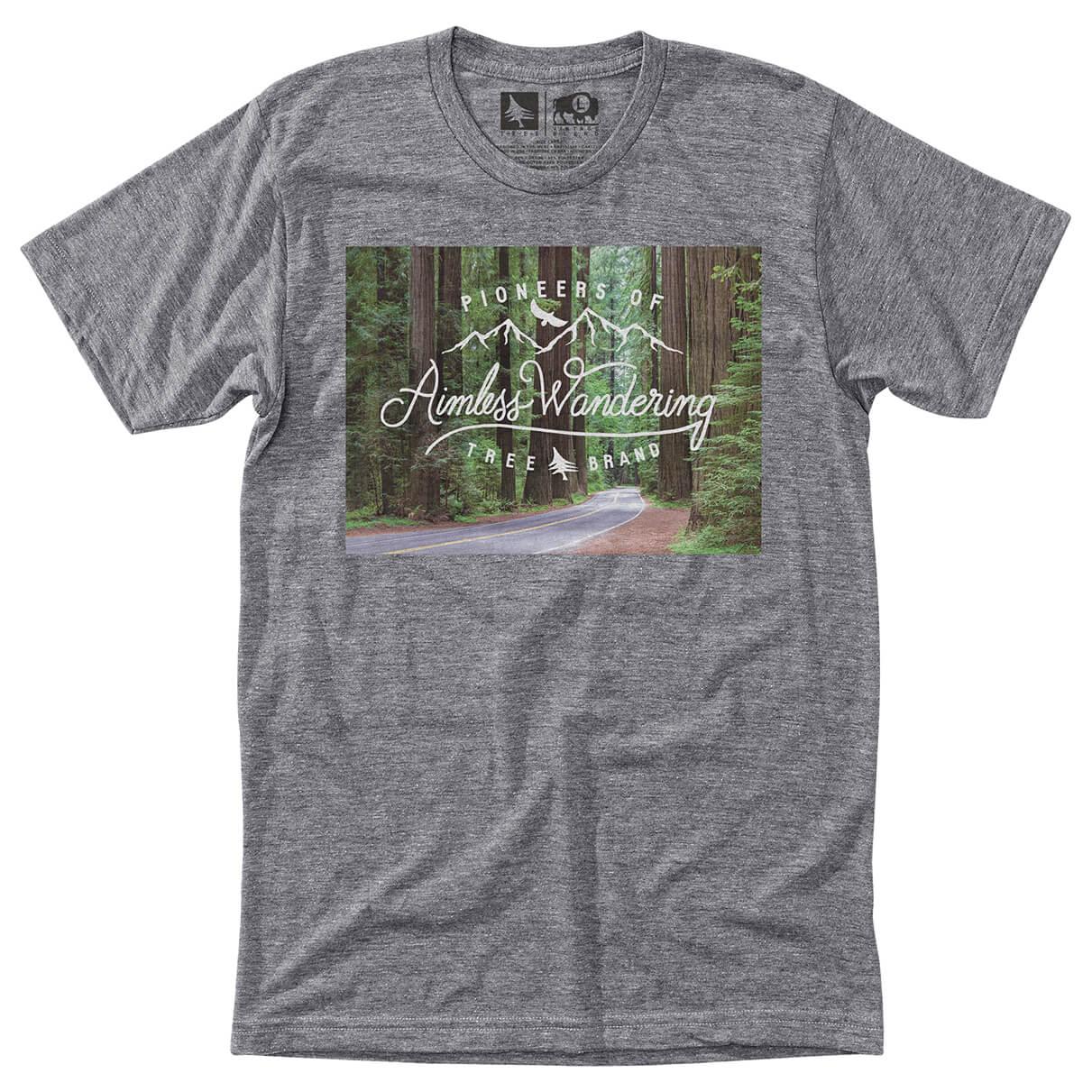 Hippy tree redwoods tee t shirt homme achat en ligne for Hippie t shirts australia