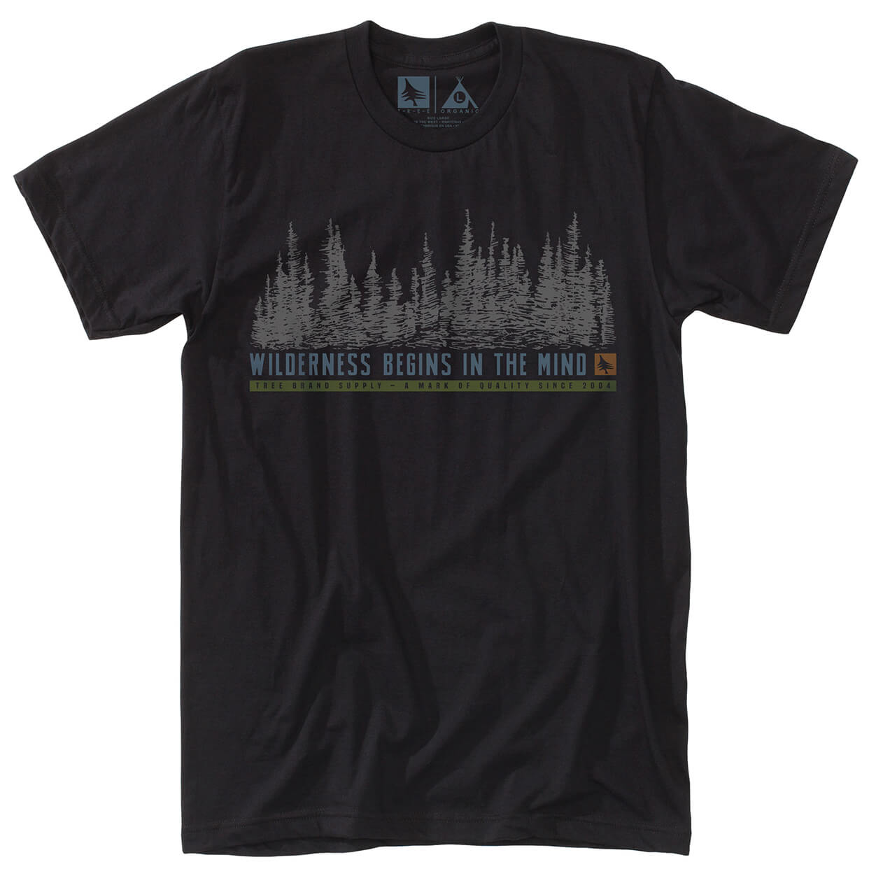 Hippy tree woodside tee t shirt homme achat en ligne for Hippie t shirts australia