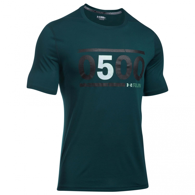 muchos de moda San Francisco Venta caliente genuino Men Under Armour Mens 5am Run T-Shirt Yoga & Pilates Clothing ...