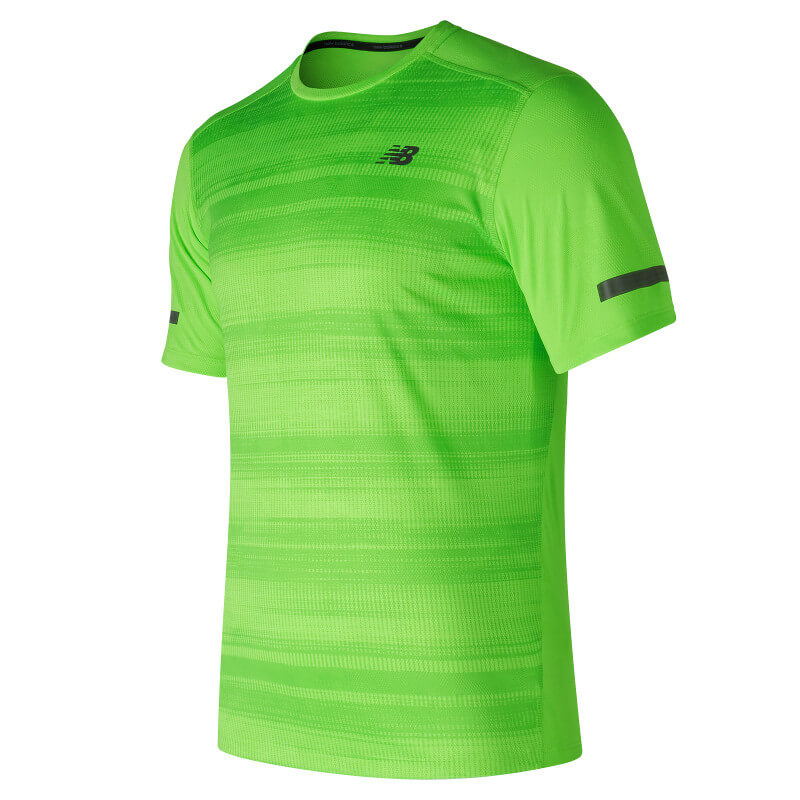 new balance tee shirt homme running