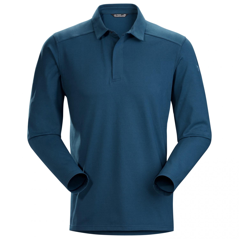 Arcteryx Captive Ls Polo Shirt Mens Buy Online Alpinetrek