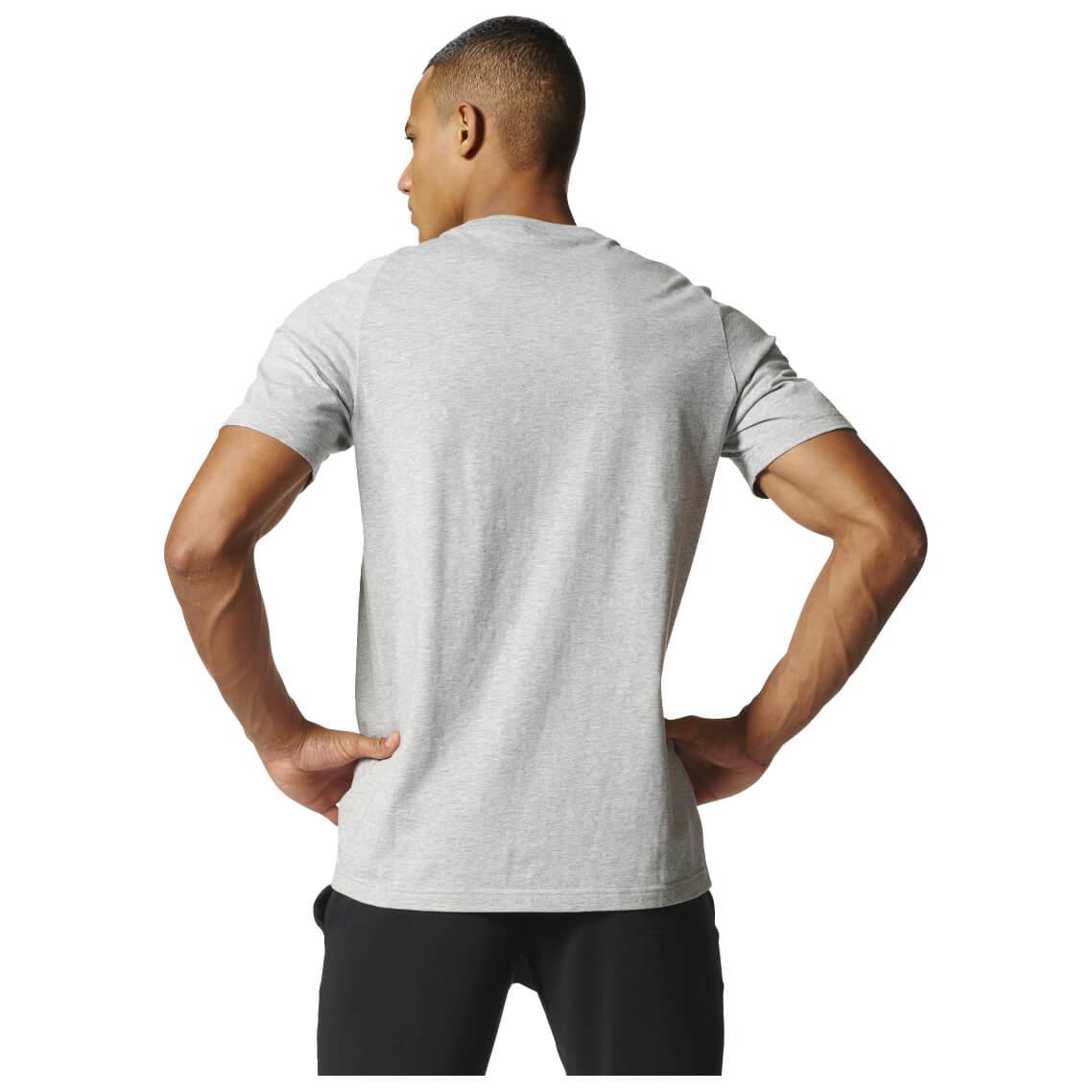 adidas sport id branded tee t shirt men 39 s buy online. Black Bedroom Furniture Sets. Home Design Ideas