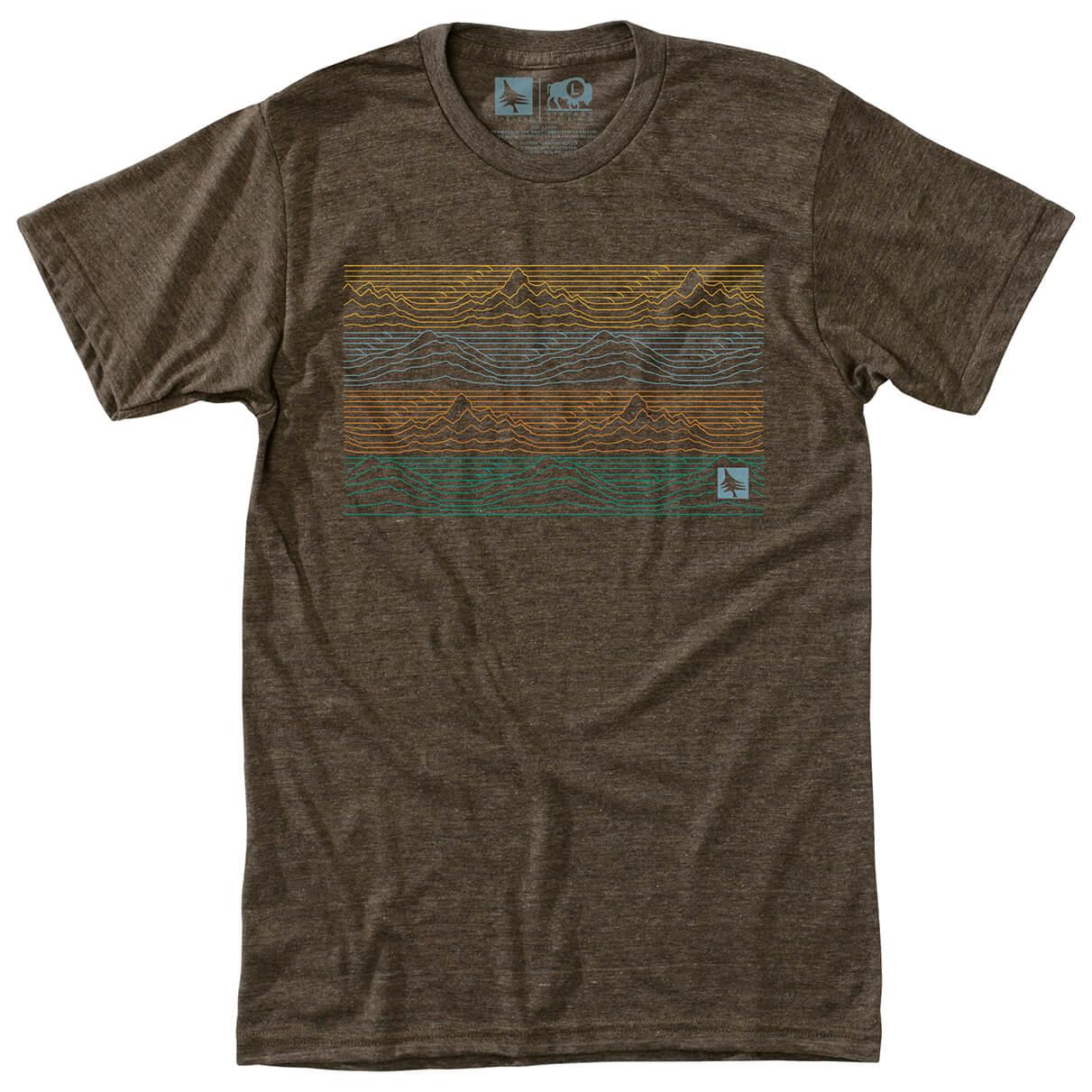 Hippy tree gradient tee t shirt homme achat en ligne for Hippie t shirts australia