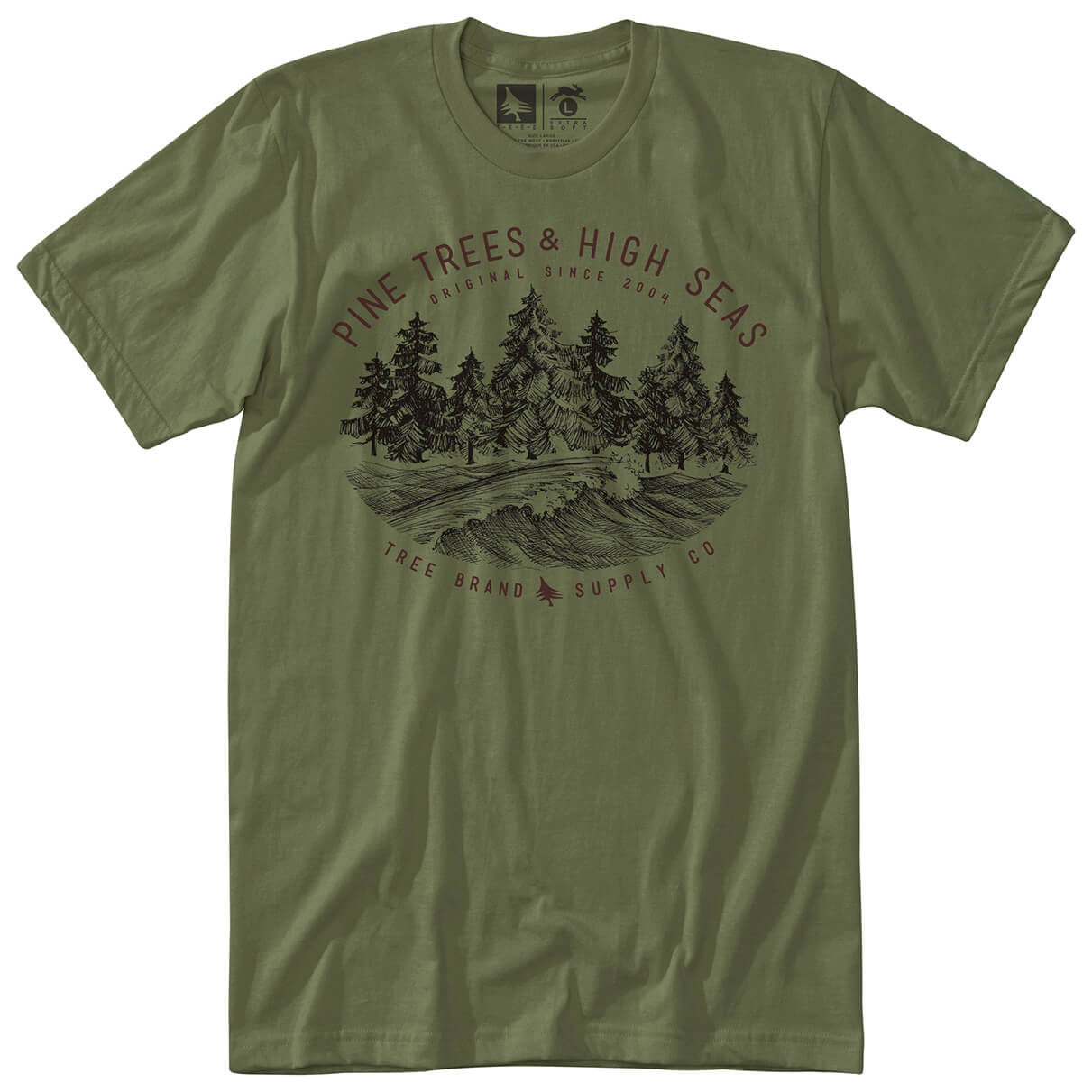 Hippy tree seaside tee t shirt homme achat en ligne for Hippie t shirts australia