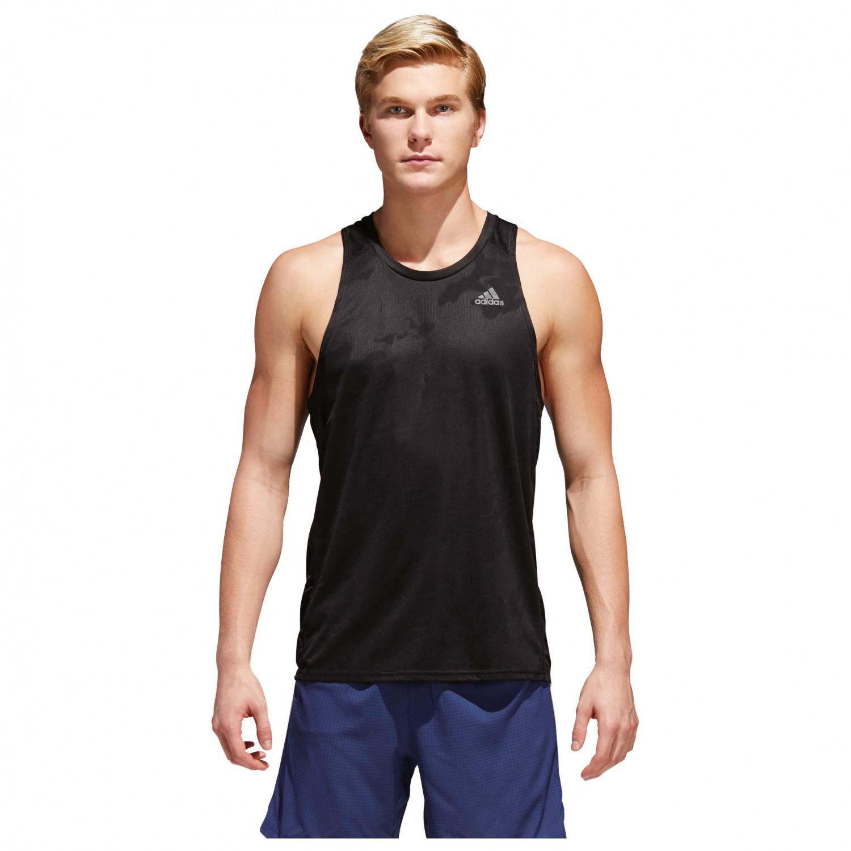 Adidas response singlet running shirt men 39 s buy online for Singlet shirt for mens