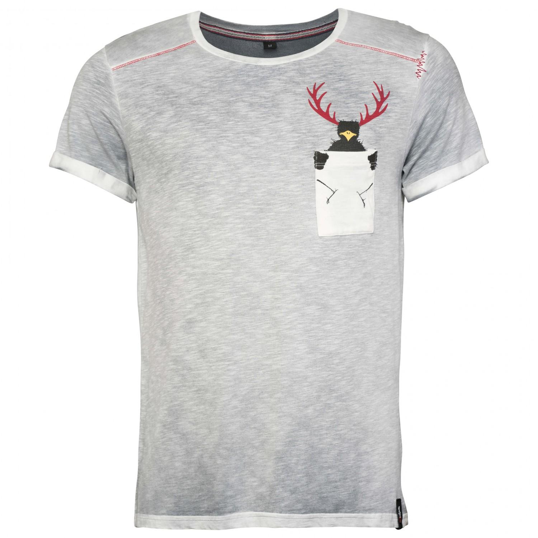 54d411ac9886 Chillaz T-Shirt Street Hirschkrah - T-Shirt Herren online kaufen ...