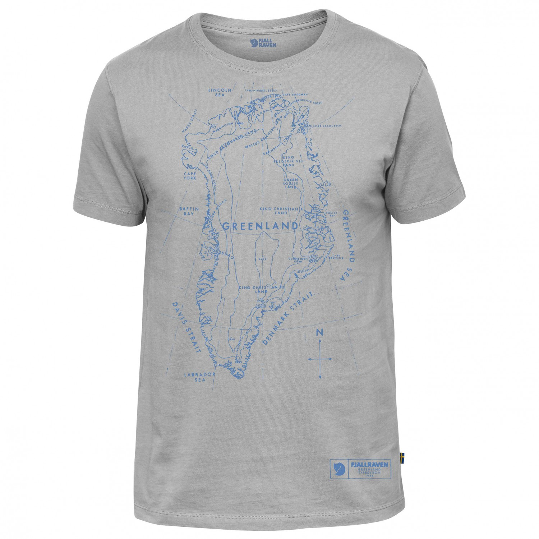 Fj llr ven greenland printed t shirt t shirt men 39 s buy for Online t shirt printers