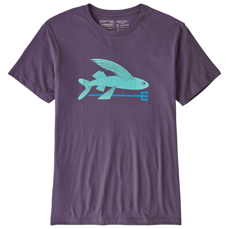 Patagonia flying fish organic t shirt t shirt men 39 s for Patagonia fishing shirt