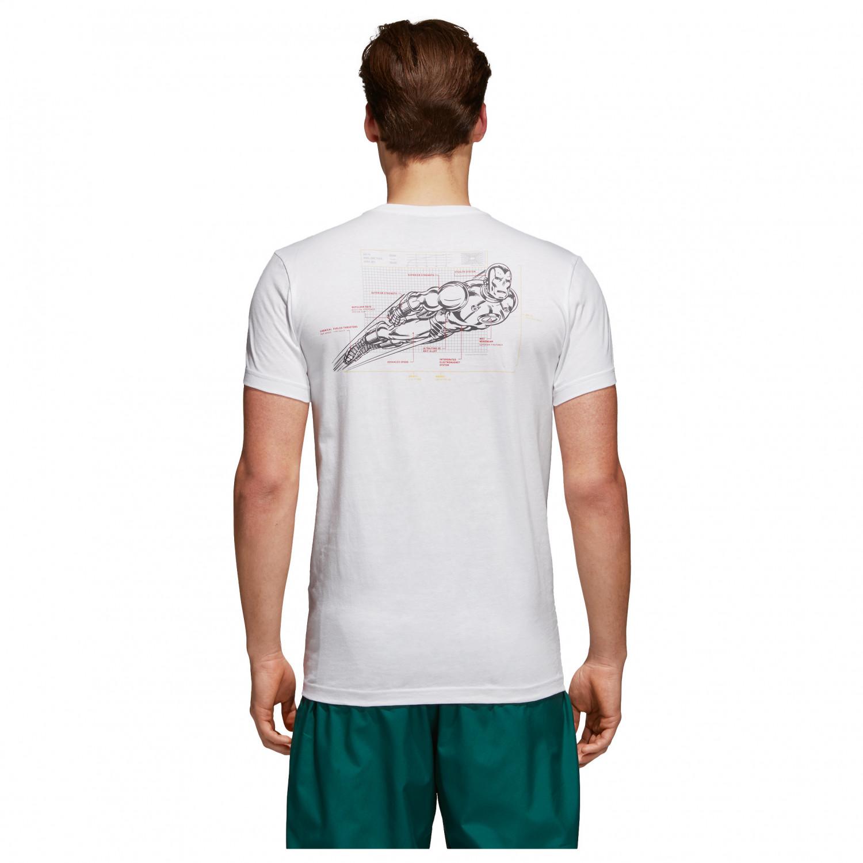adidas t shirt iron man