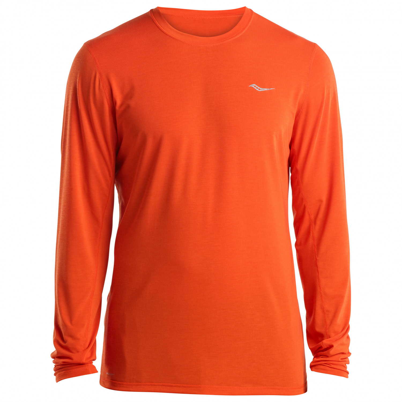 6dd5d9ac Saucony - Freedom Long Sleeve - Running shirt - Flame   S