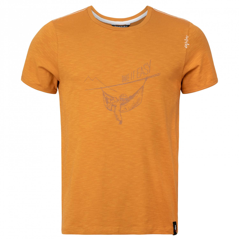 Chillaz Sloth T shirt Dark Curry | S