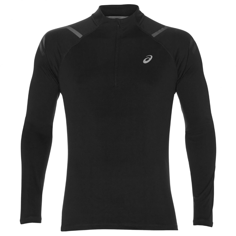 Performance 12 Icon BlackXs Top De Ls Zip T Shirt Asics Running nPw0Ok