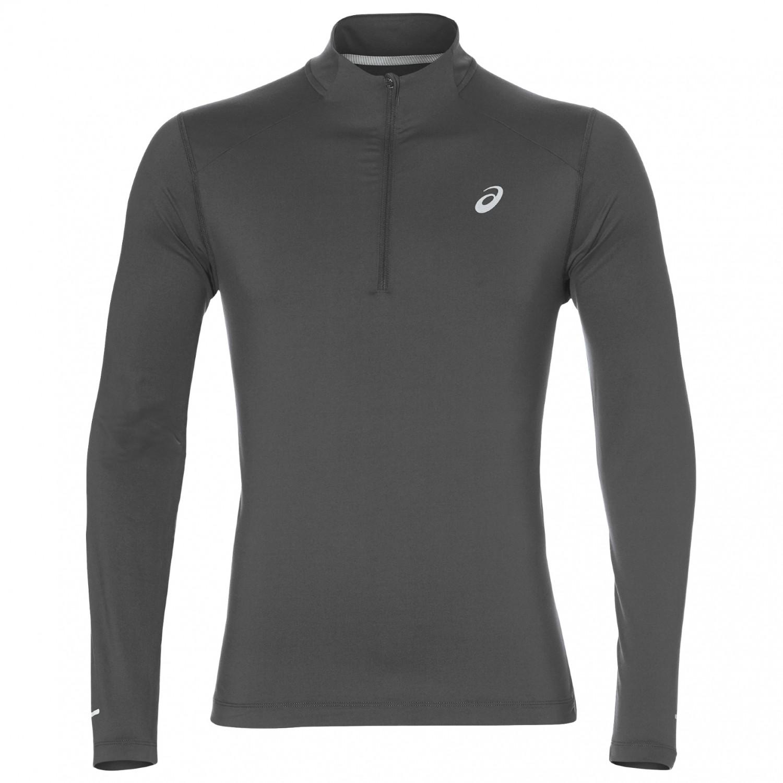 f0769693 Asics - L/S 1/2 Zip Jersey - Running shirt - Dark Grey Heather | S