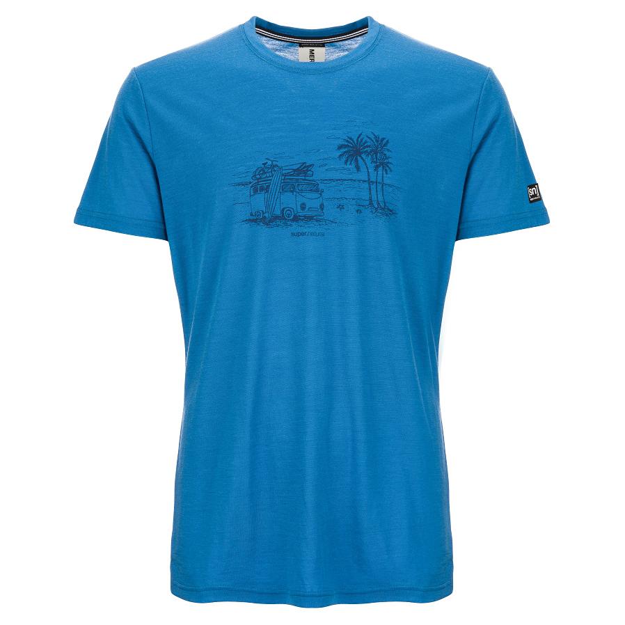 8455368aa SuperNatural Graphic Tee Beach Print - T-Shirt Men's | Buy online ...