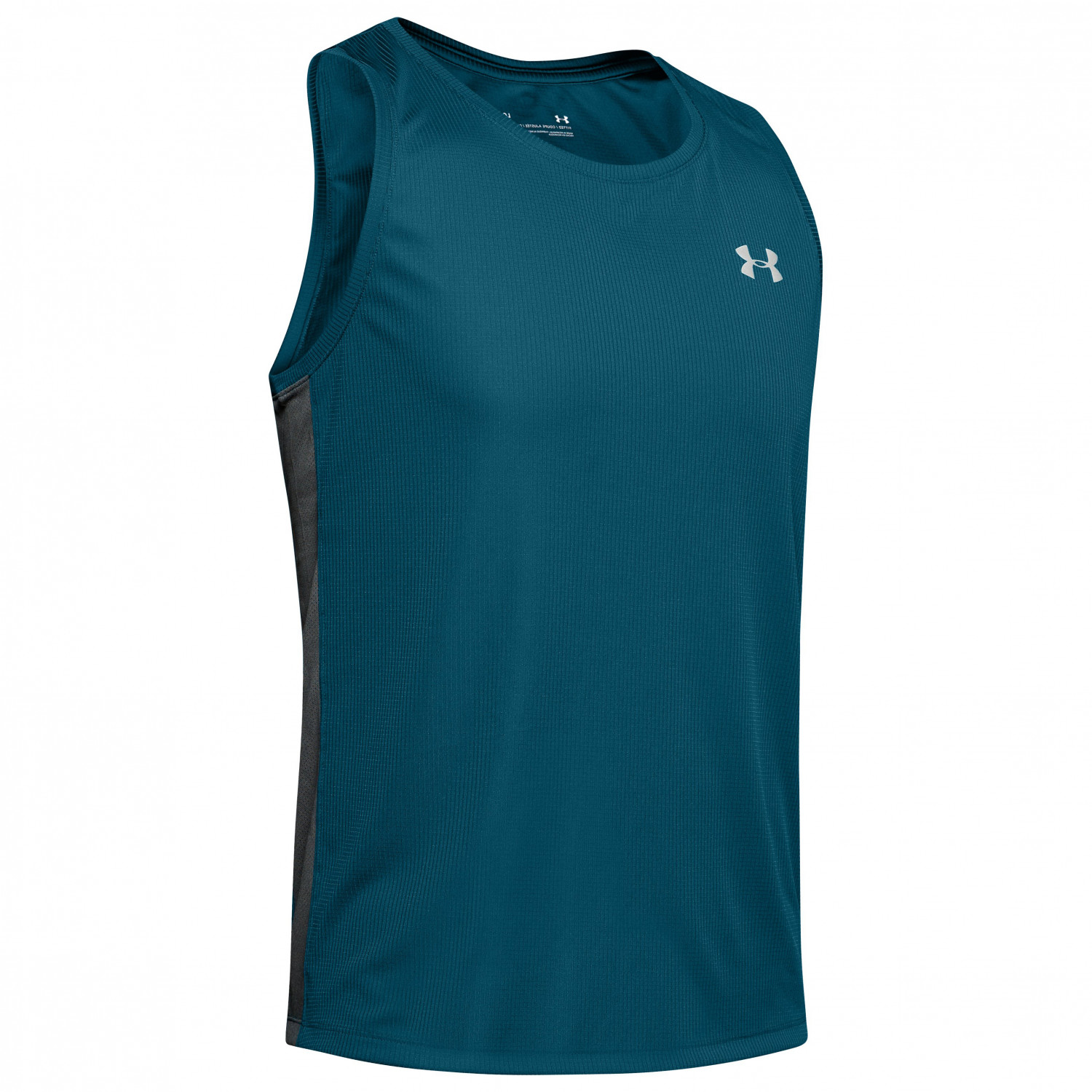 Under Armour UA Speed Stride Singlet Laufshirt Teal Vibe | S
