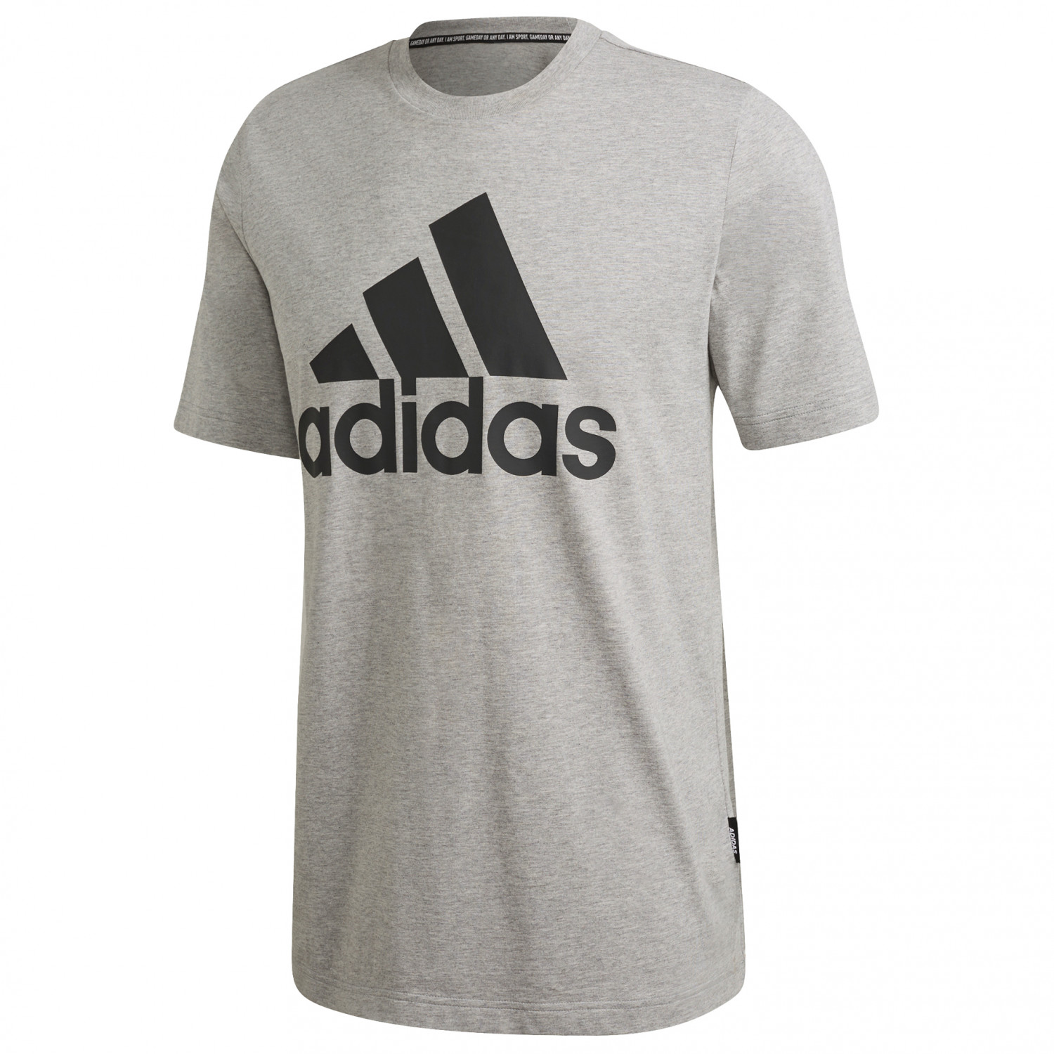Adidas EMBLEM T Shirt Herren medium grey heather im Online