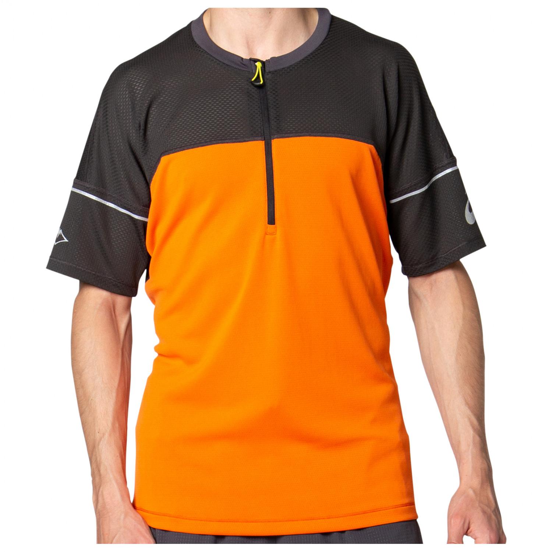 Asics - Fujitrail Top - Running shirt - Marigold Orange | S