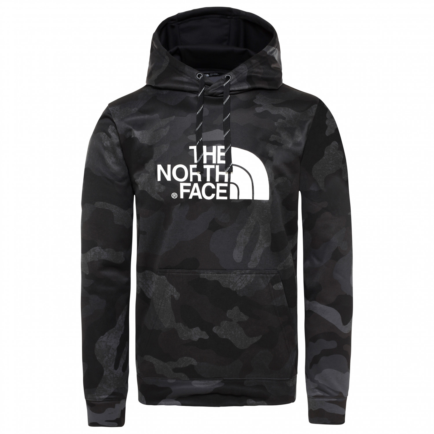 6d129e142 The North Face - Surgent Halfdome Po Hoodie - Hoodie - TNF Black Waxed Camo  Print | S