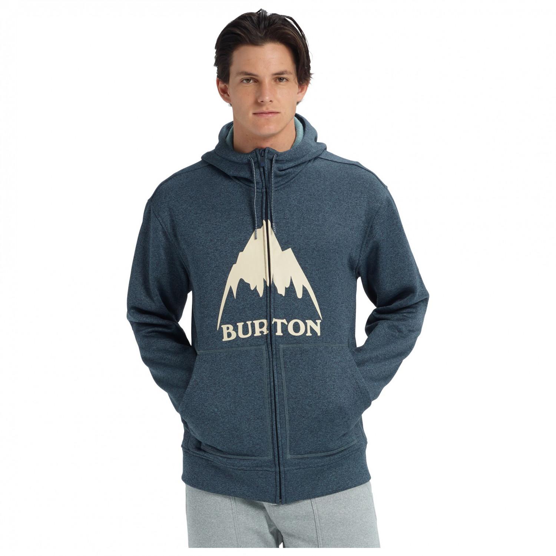 Burton Herren Hoodie Oak Full Zip: : Bekleidung