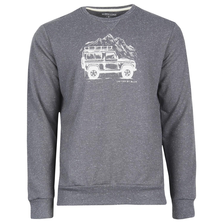 United By Blue Adventure Mobile Crew Pullover Jumper Mens Free Alfa Romeo Sweater