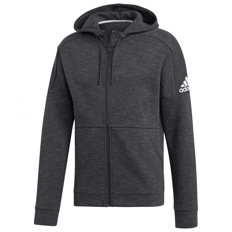 adidas - ID Stadium Fullzip - Hoodie - MGH Solid Grey / Raw White | S