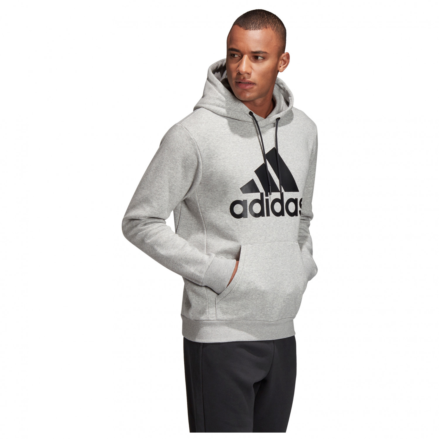 Adidas MH Badge Of Sport Pullover Fleece Sweat à capuche
