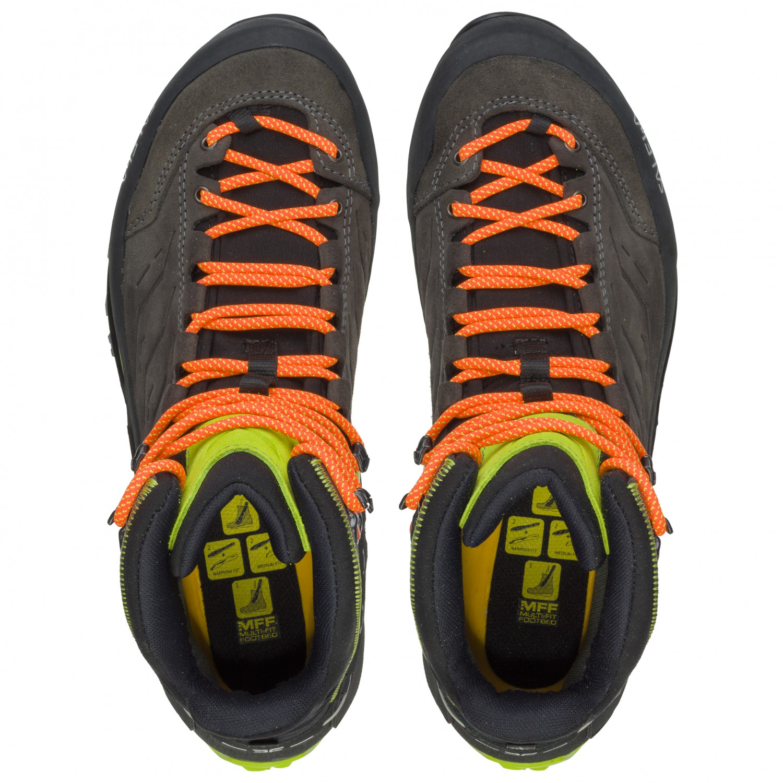 13219b90250 Salewa - MTN Trainer Mid GTX - Walking boots - Charcoal / Papavero | 8 (UK)