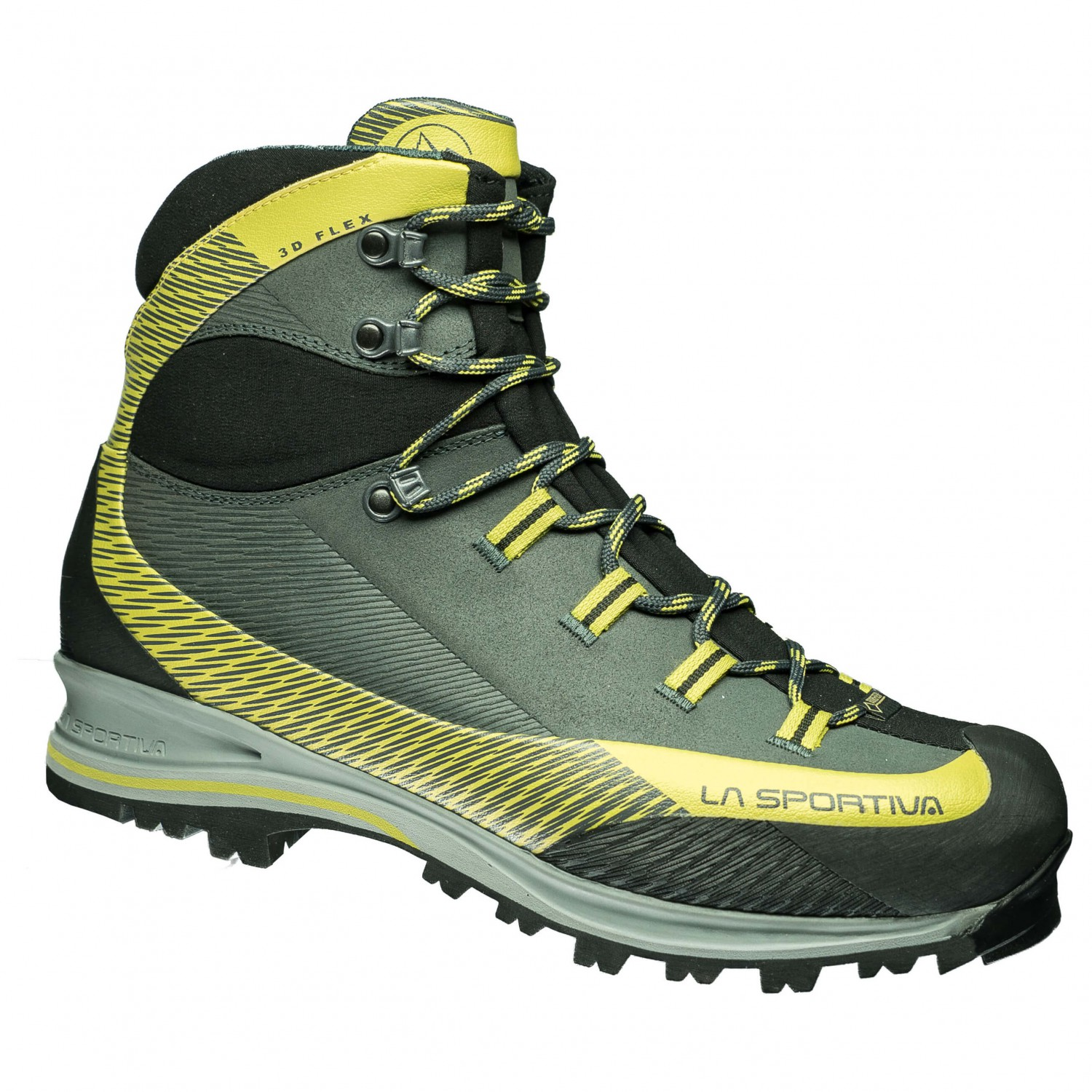 La Sportiva - Trango TRK Leather GTX - Wanderschuhe Carbon / Green