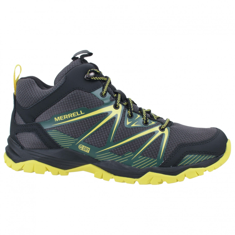 Merrell - Capra Rise Mid Waterproof - Walking boots ...