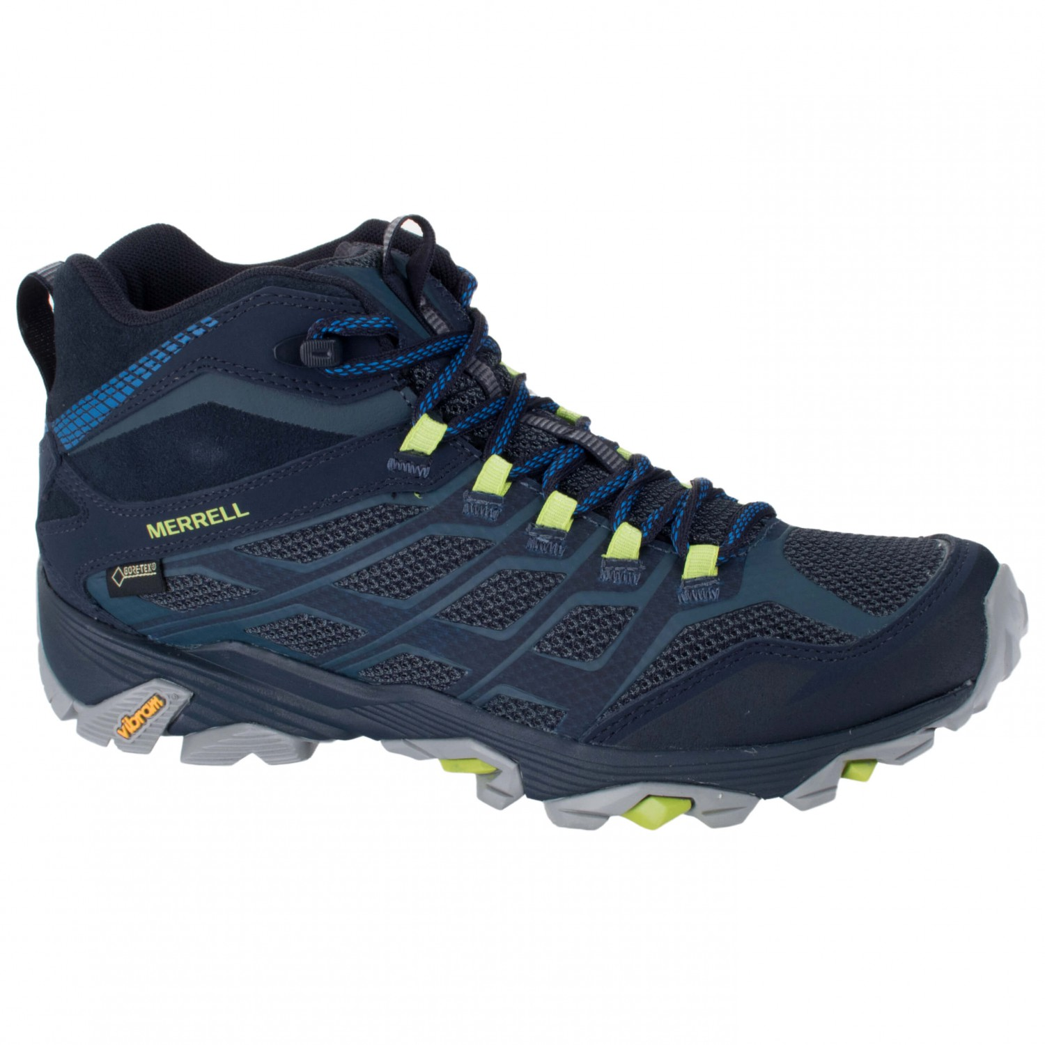 merrell moab fst mid gore tex chaussures de randonn e homme livraison gratuite. Black Bedroom Furniture Sets. Home Design Ideas