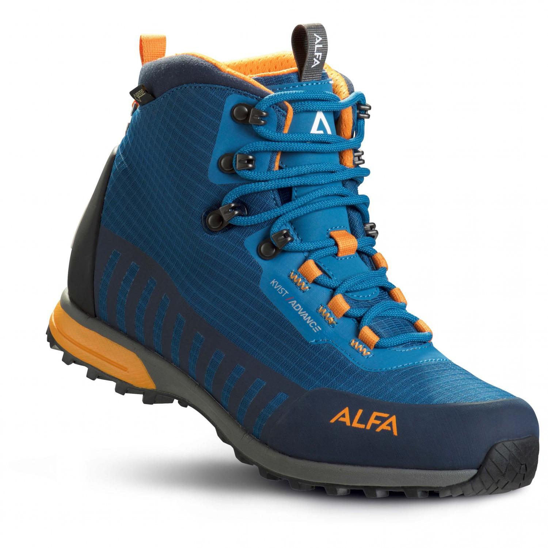 Alfa - Kvist Advance GTX - Wanderschuhe Seaport / Orange