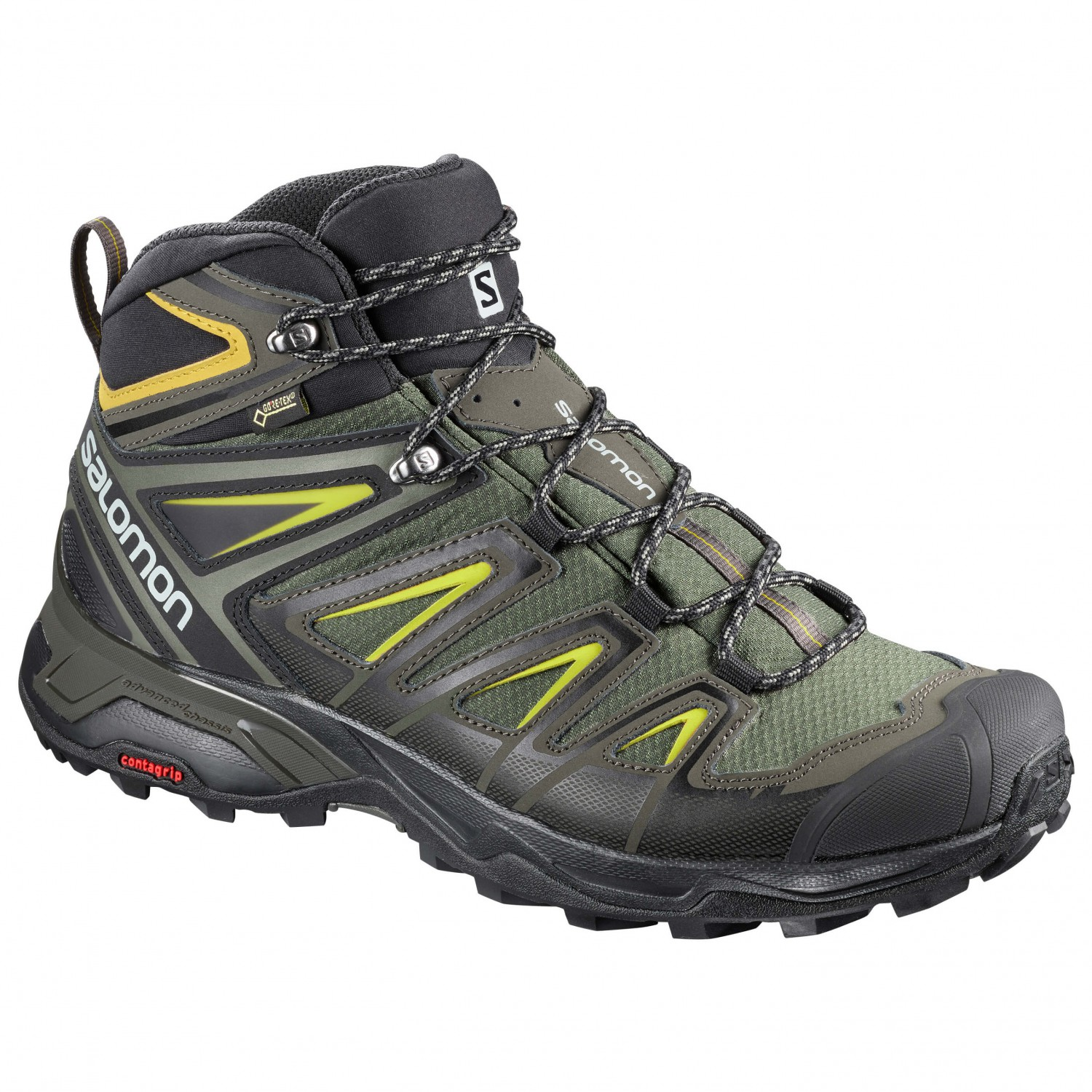 salomon men's x ultra 3 gtx low rise hiking shoes uk