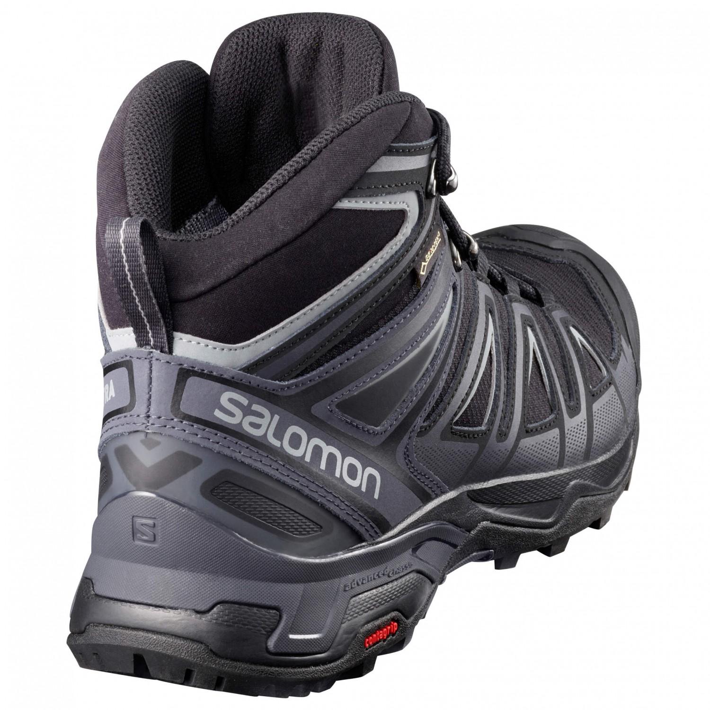 quality design 55863 55677 Salomon - X Ultra 3 Mid GTX - Wanderschuhe - Castor Gray / Black / Green  Sulphur   7,5 (UK)