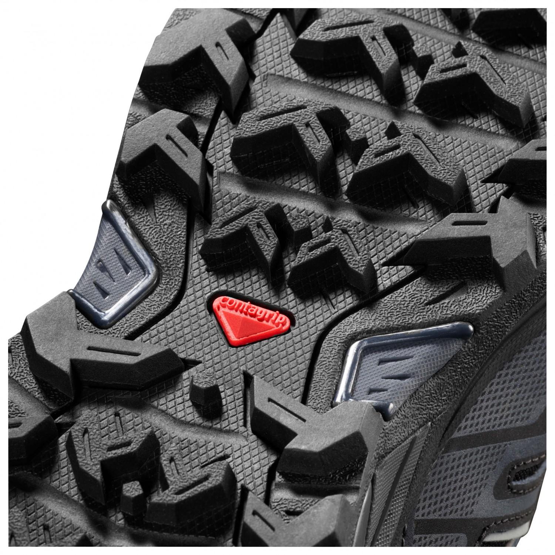 Genieße den reduzierten Preis Modestil hochwertige Materialien Salomon - X Ultra 3 Mid GTX - Wanderschuhe - Castor Gray / Black / Green  Sulphur   7,5 (UK)