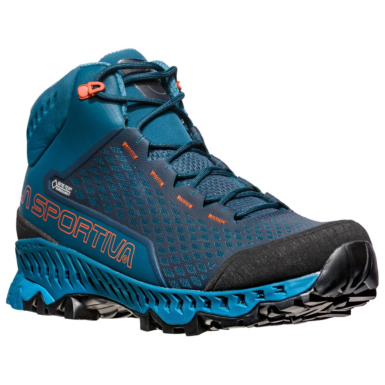 buy online ae705 6d5c1 La Sportiva - Stream GTX - Scarpe da trekking - Carbon / Apple Green | 40  (EU)