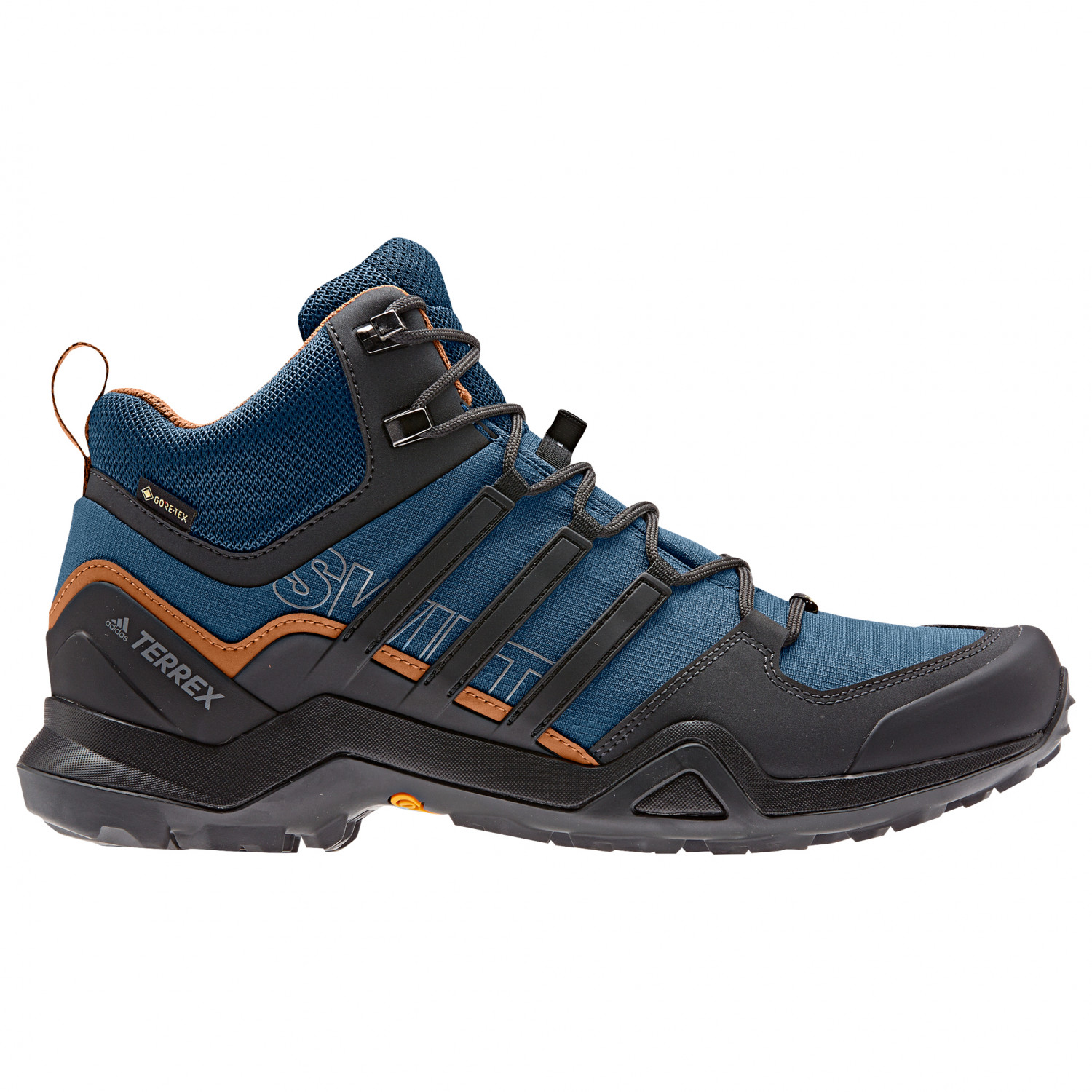 adidas - Terrex Swift R2 Mid GTX - Wanderschuhe - Core Black / Core Black /  Core Blue | 7,5 (UK)