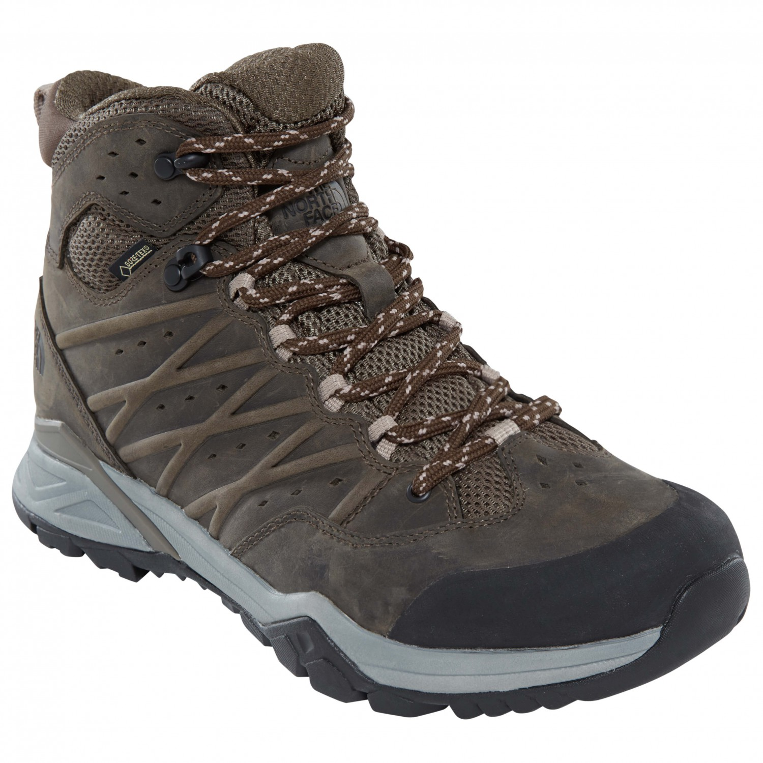 388485955 The North Face - Hedgehog Hike II Mid GTX - Walking boots - TNF Black /  Graphite Grey | 8,5 (US)