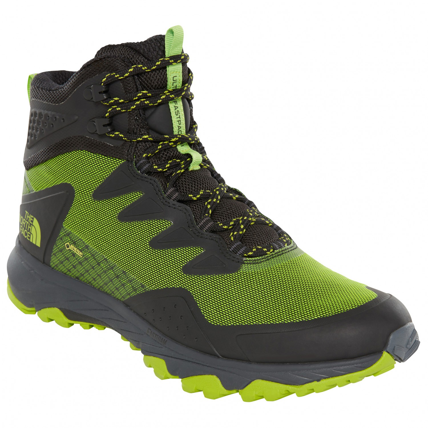 38910b4315e The North Face - Ultra Fastpack III Mid GTX - Walking boots - TNF Black /  Amber | 8,5 (US)