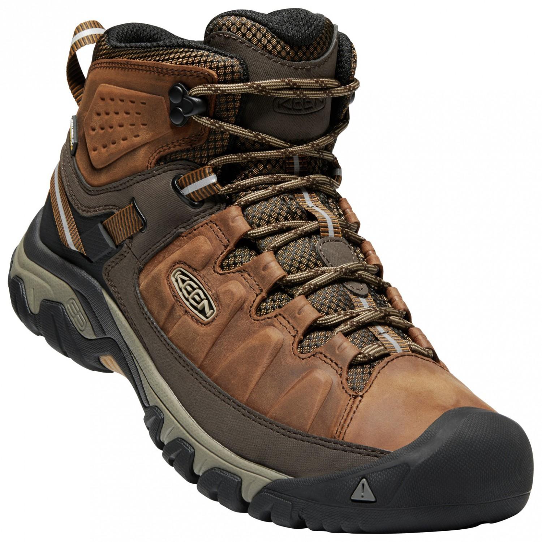 acheter pas cher 92e9d 52213 Keen - Targhee III Mid WP - Chaussures de randonnée - Big Ben / Golden  Brown | 8 (US)