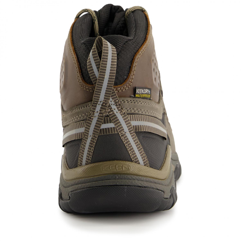 finest selection b5458 63bee Keen - Targhee III Mid WP - Scarpe da trekking - Big Ben / Golden Brown | 8  (US)