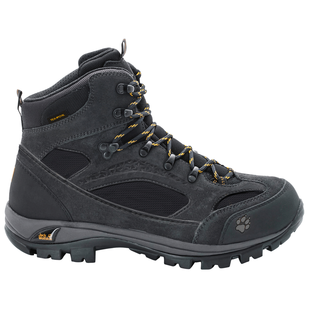 Jack Wolfskin All Terrain 8 Texapore Mid Wanderschuhe Phantom | 7,5 (UK)
