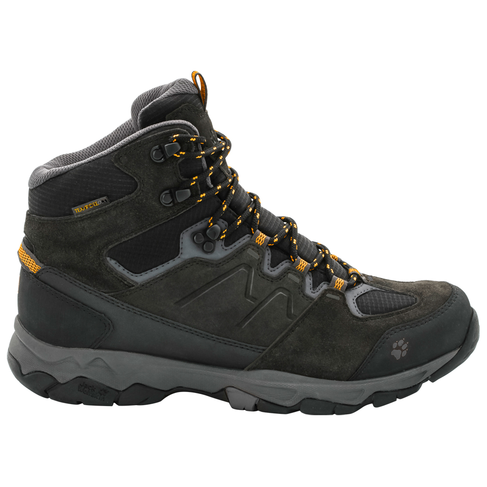 exquisite style exclusive shoes new arrival Jack Wolfskin - Mountain Attack 6 Texapore Mid - Wanderschuhe - Burly  Yellow | 12,5 (UK)