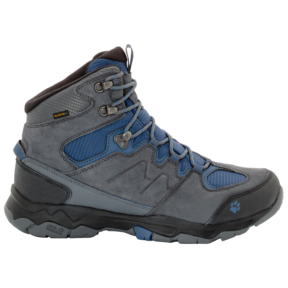 a6c6cf19086 Jack Wolfskin - Mountain Attack 6 Texapore Mid - Walking boots - Burly  Yellow | 7,5 (UK)
