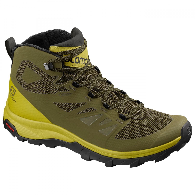 Salomon Outline Mid Gtx Walking Boots Men S Free Eu