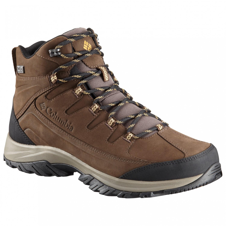 couleur n brillante détaillant trouver le travail Columbia - Terrebonne II Mid Outdry - Chaussures de randonnée - Black / Lux    8,5 (US)