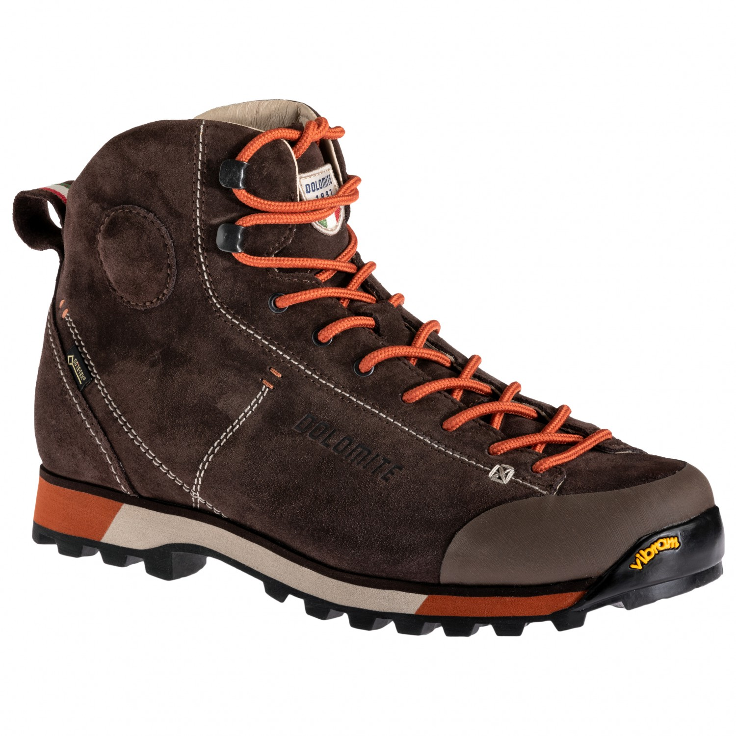 438a8cde037 Dolomite - Cinquantaquattro Hike GTX - Walking boots - Dark Brown / Red |  7,5 (UK)