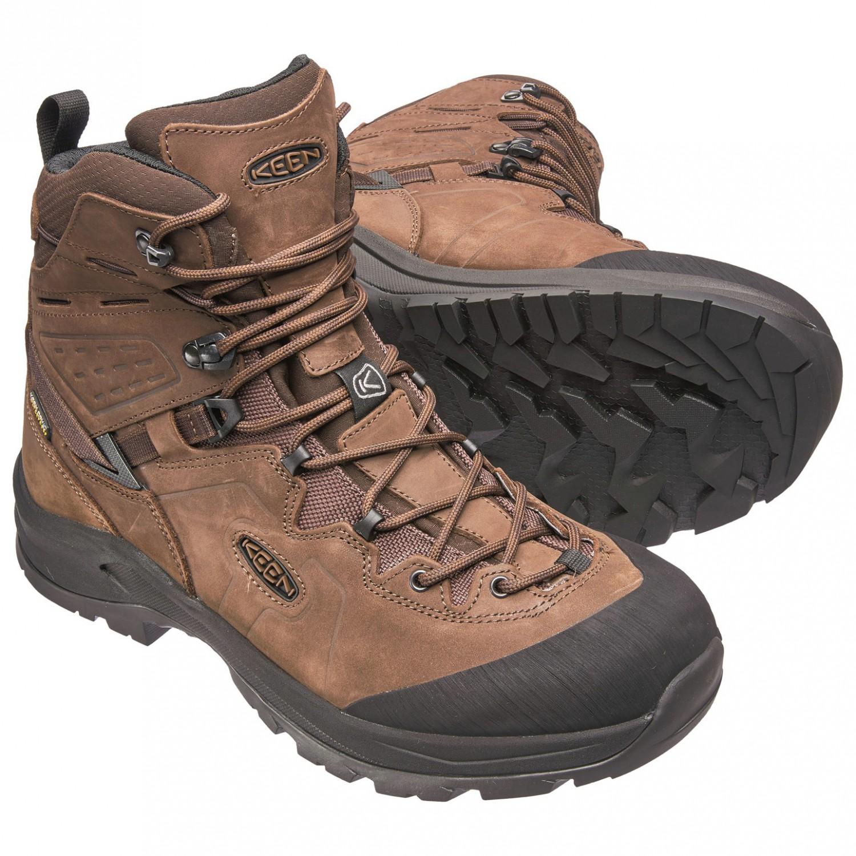 best sneakers 3695e d61b5 Keen - Karraig Mid WP - Wanderschuhe - Dark Earth / Raven | 8,5 (US)