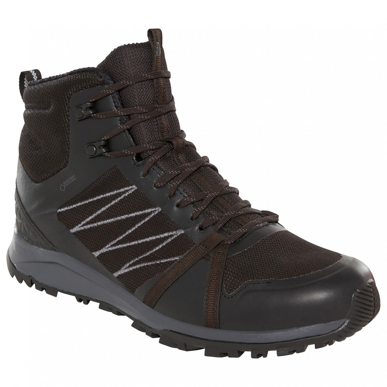 Ebony randonnée GTX Black 5US II de Chaussures Face The Litewave Fastpack Mid TNF Grey8 North Yf76gyb