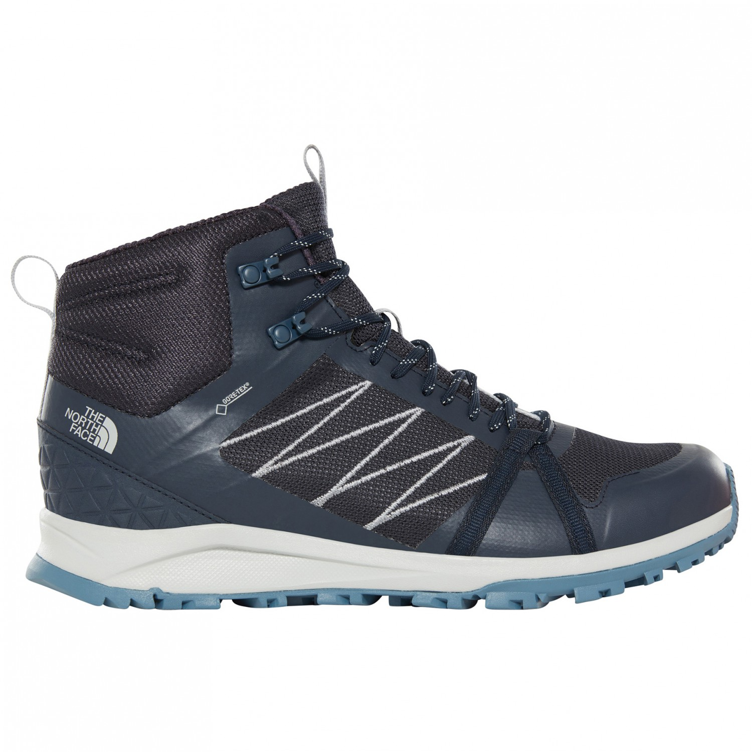 dobrze out x przytulnie świeże aliexpress The North Face - Litewave Fastpack II Mid GTX - Walking boots - TNF Black /  Ebony Grey | 8,5 (US)
