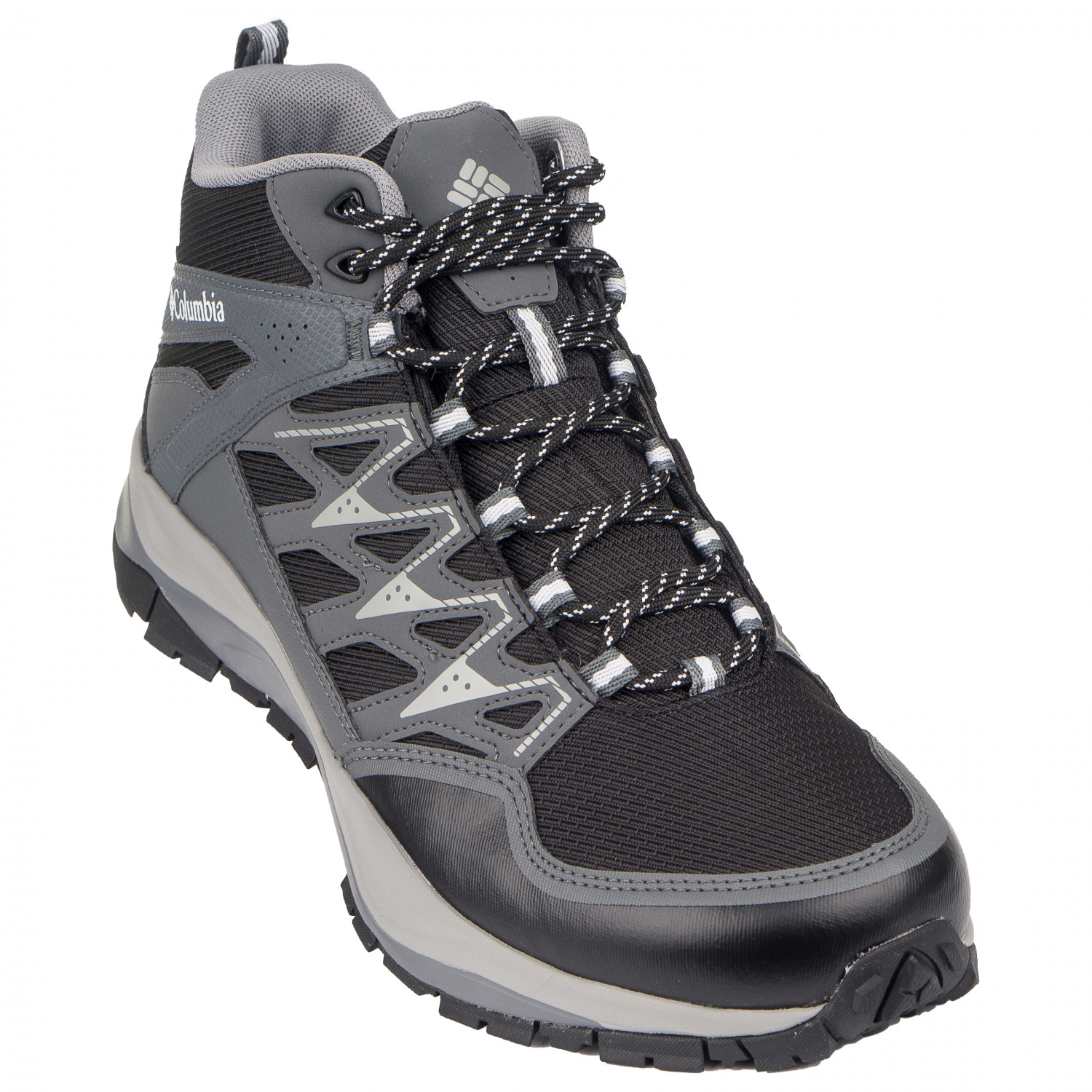 3702bca29ad Columbia - Wayfinder Mid Outdry - Walking boots - Black / White | 9,5 (US)